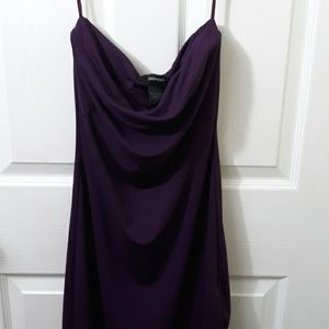 Express Strapless Slip Dress
